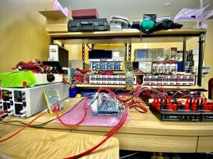 衛星電気試験設備